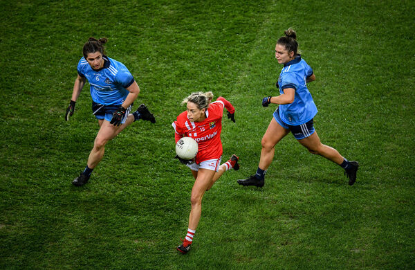 Kinsale and Cork star Orla Finn. Picture: Stephen McCarthy/Sportsfile