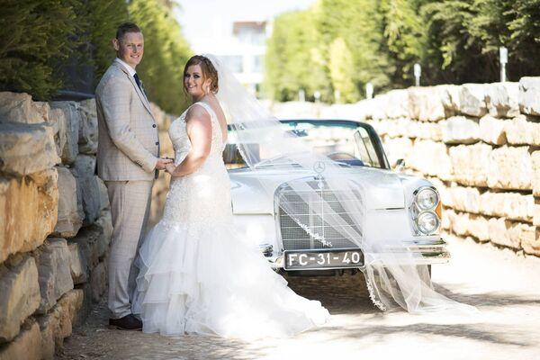 Dawn Fitzgerald from Bruree and Richard Barry from Charleville were wed in the sunny Algarve.