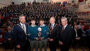 Young Scientists return to Cork school as winning heroes