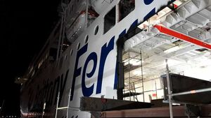 Pont-Aven Ferry on Cork to Roscoff route undergoing significant overhaul