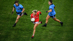 Cork ladies footballers hold out for big win over rivals Dublin at Croke Park