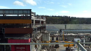 New images of fire-damaged Cork shopping centre show extent of demolition works