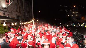 Picture Gallery: Hundreds take part in Cork's Santa cycle