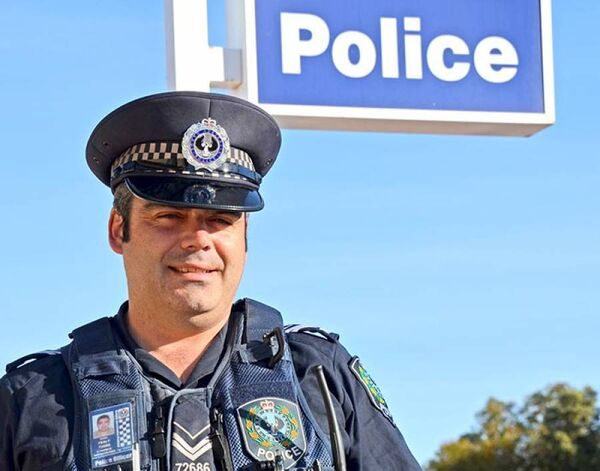 Noel Fealy a police officer with the South Australian Police.