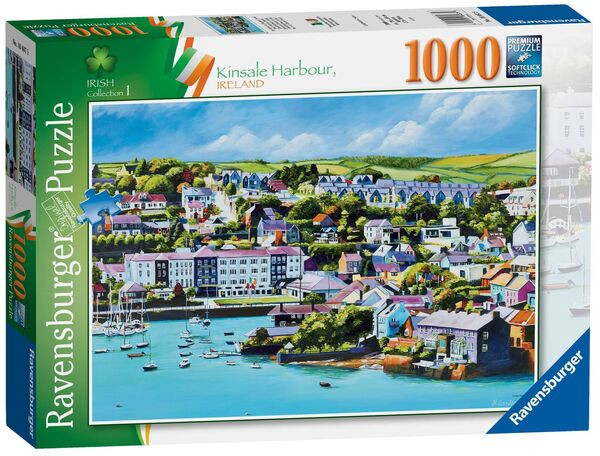 Irish artist Helen Condon's art which has been made into a jigsaw by puzzle giant Ravensburger