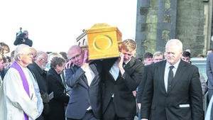 Farewell buddy, says father as Cameron Blair is laid to rest