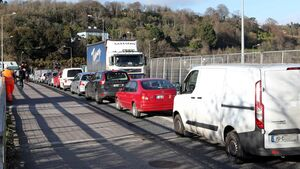 Roadworks lead to traffic chaos in Little Island as motorists complain of 90-minute queues to get in and out