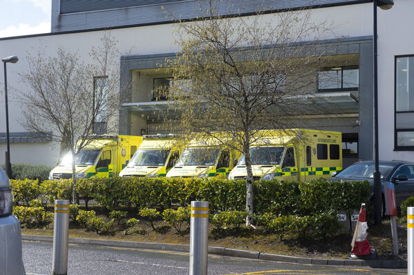 Ambulance crews are often subject to long delays waiting for the return of their trolleys
