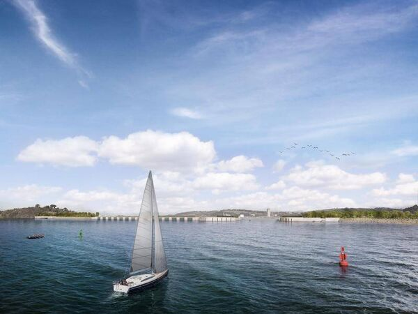 New images of a potential tidal barrier in Cork have been released by Save Cork City.
