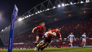 Munster are moving towards a more expansive brand of rugby