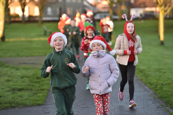 Ballincollig will be having a parkrun on Christmas Day. Picture Dan Linehan