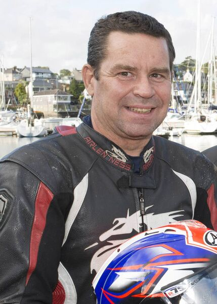 Motorcycle racer Derek Wilson is an advocate of doing your homework. Picture: Martin Walsh.