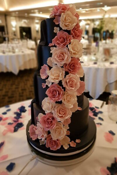 FLOWER POWER: A wedding cake by The Baker Boy, Brian Roche. Pictures: Facebook - with permission.