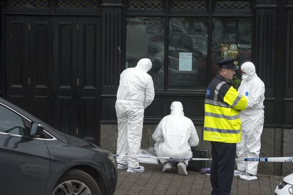 The scene of the killing last year.Pic Michael Mac Sweeney/Provision