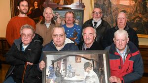 Painting by numbers: Age is no barrier to Fair Hill Men's Art Group