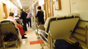 "Cork hospital conditions ""very difficult"" for patients and staff"