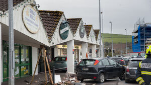 Temporary measures in place at Ballincollig shopping units after crash caused fears of a collapse
