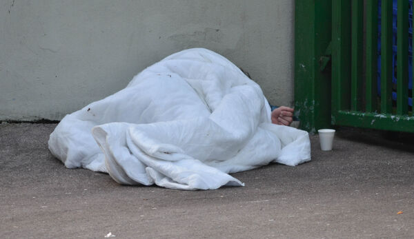 Homelessness has become a major problem in Cork and across the country