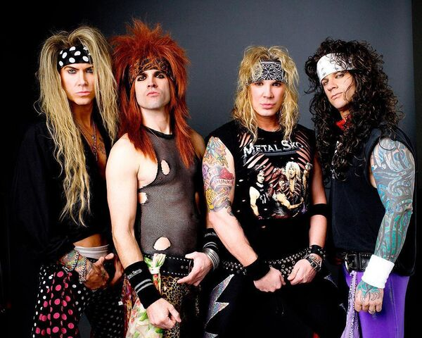 Steel Panther perform at Cyprus Avenue on February 17.