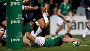 Bandon's Crowley leads Ireland U20 rugby team to thrilling win over Scotland