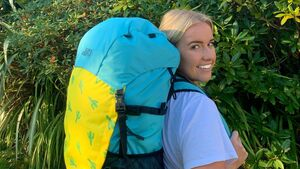Globe-trotting Cork woman designs sustainable backpack for women