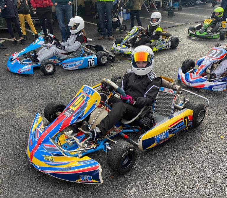 Cork girl: My dream is to become a Formula 1 driver