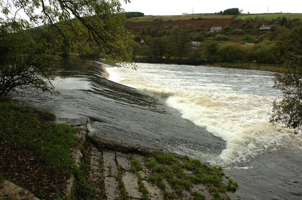 The river at Ballincollig Regional Park.