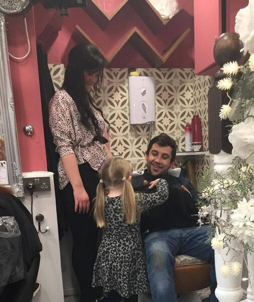 Ciara Jane at Joseph's Hair Salon in Glasheen.