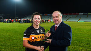 Cool head Laura Fitzgerald has that winning feeling for Mourneabbey