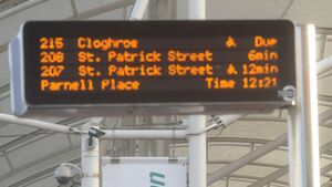 Bus Eireann explains why electronic timetables are often wrong in Cork