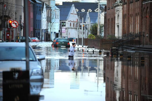 Flood at Liberty Street. Pic: Brian Lougheed