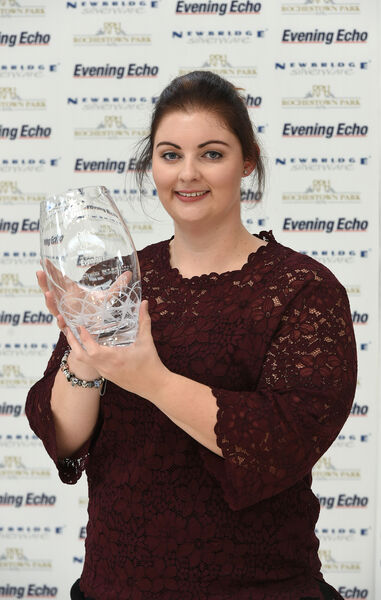 Orla Barry at the Echo Ladies Sports Star Awards 2016, autumn winner. Picture: Larry Cummins