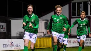 What a week for Cork's rising soccer stars in the Irish colours!