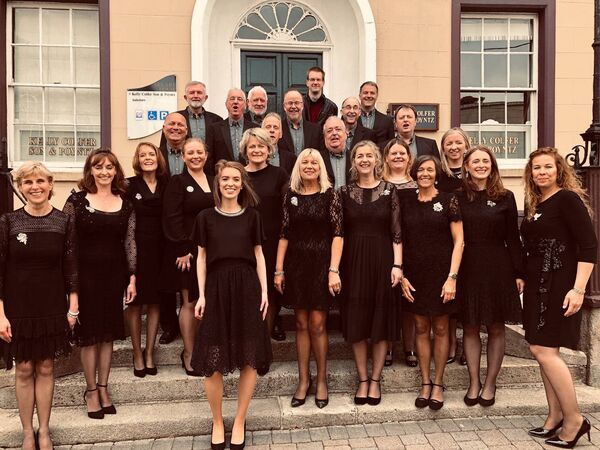 Cantate, just after competing in the Mixed Open competition at the 35th AIMS Choral Festival held in New Ross earlier this year.