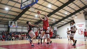 Jack O'Mahony is back to his best for slick Fr Mathew's basketballers