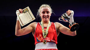 Christina Desmond shows her class again to land another elite boxing title