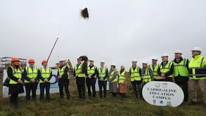 The sod is turned on Cork's largest school campus