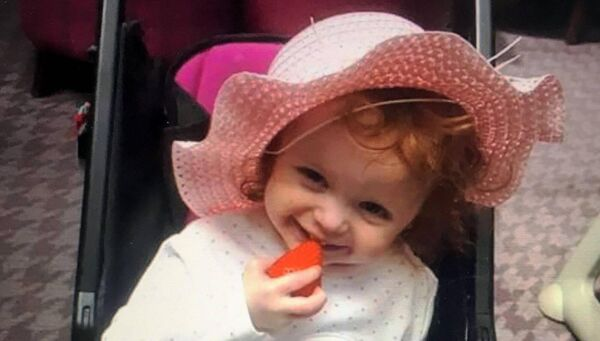 Two year old Santina Cawley who was killed in an apartment in CorkPic from Provision