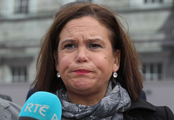 There have been calls for Sinn Féin leader Mary Lou McDonald to be included in set-piece leader debates. Photo: Eamonn Farrell/RollingNews.ie