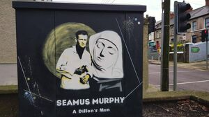 Latest electrical box painting pays tribute to a Cork sculptor
