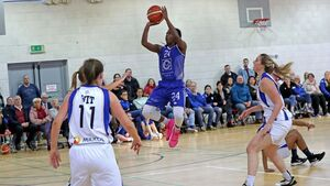 Glanmire's Shrita Parker jumped through hoops to rule the court in Cork