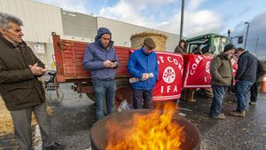 Farmers protest in Cork; ABP plans to increase base price for beef