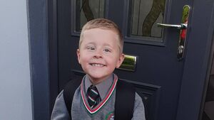 Cork mum overcome with emotions as son starts school after three open-heart surgeries
