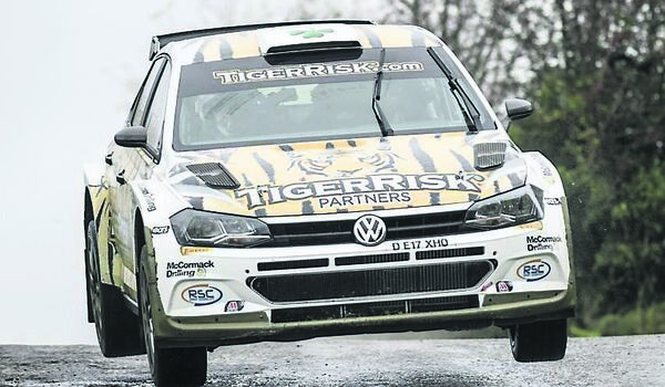 Draperstown's Marty McCormack and co-driver Barney Mitchell gave the Volkswagen Polo GTi a winning Irish rallying debut.