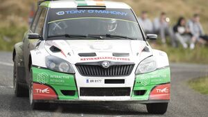 Leeside crew Guest and McGrath secured fifth in action-packed Cork 20 rally