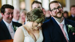 Wedding of the Week: Imagine meeting your future husband after an accidental swipe on Tinder? That's what happened this Cork couple