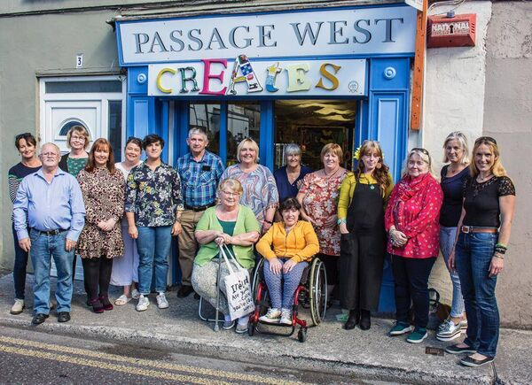 Members of Passage West Creates.