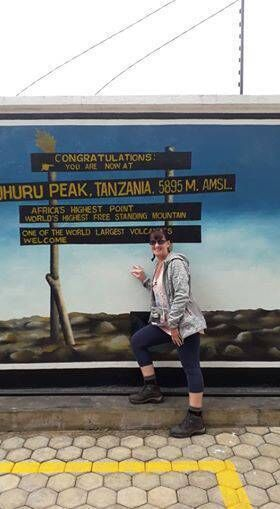Liz Cullinane from Dublin Hill climbed up Kilimanjaro in aid of Cork Cancer Care Centre.