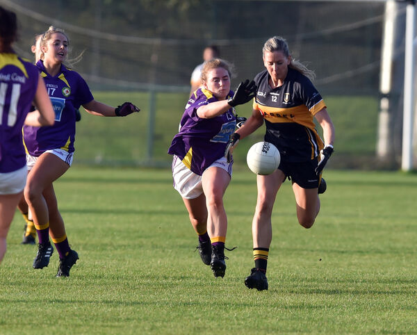 Mourneabbey's Síle O'Callaghan breaks from West Cork's Libby Coppinger. Picture: Eddie O'Hare