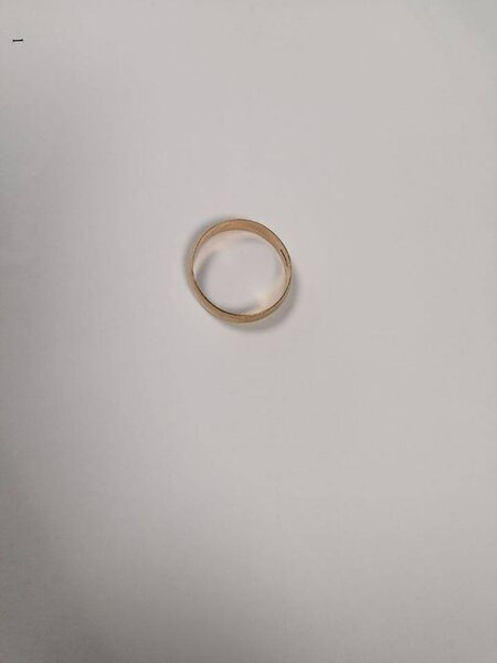 The wedding ring was found at Dunmore Cove.